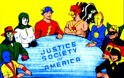 justice society of america the boys