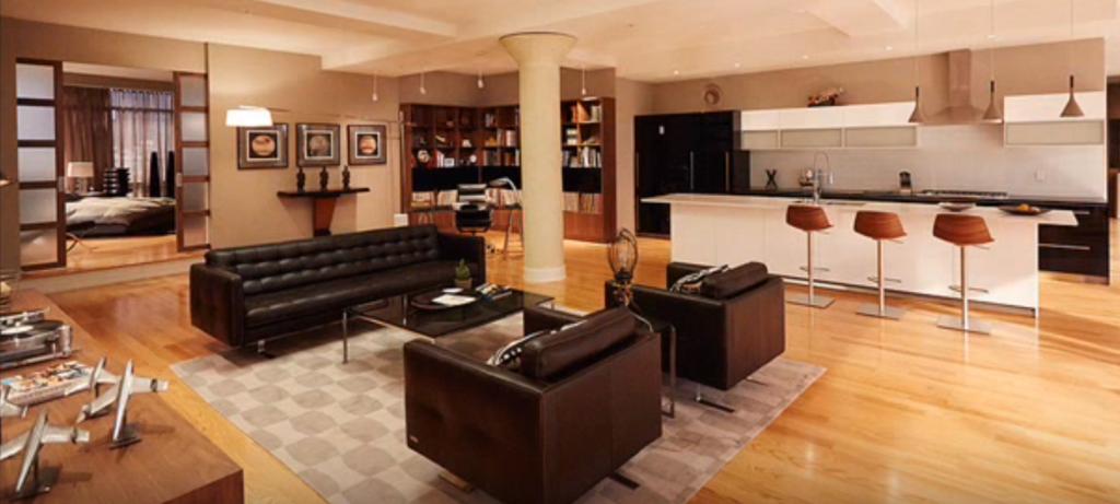 Suits: Harvey Specter's apartment