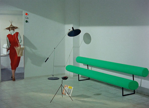 Mrs Arpel's sofa from Jacques Tati's Mon Oncle