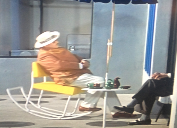Rocking Chair from Jacques Tati's Mon Oncle