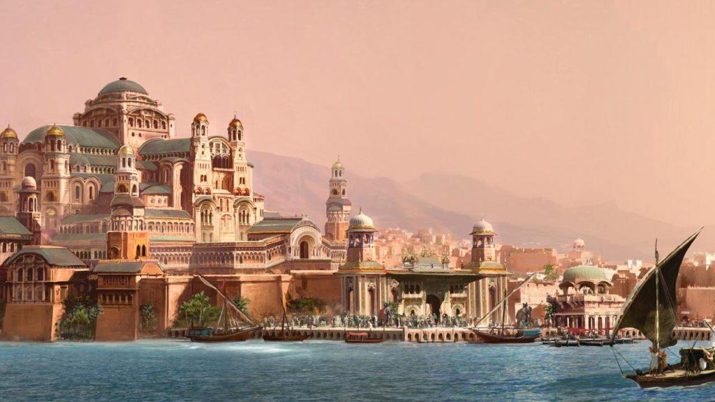 Artwork for Aladdin. Image c/o BFDG