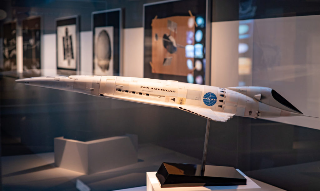 Model of the Orion III space plane