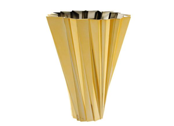 kartell gold vase