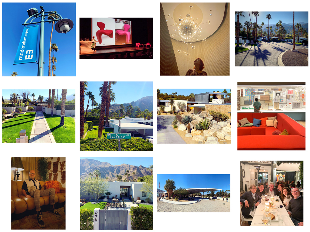 Film and Furniture's adventures at Modernism Week, Palm Springs, February 2020