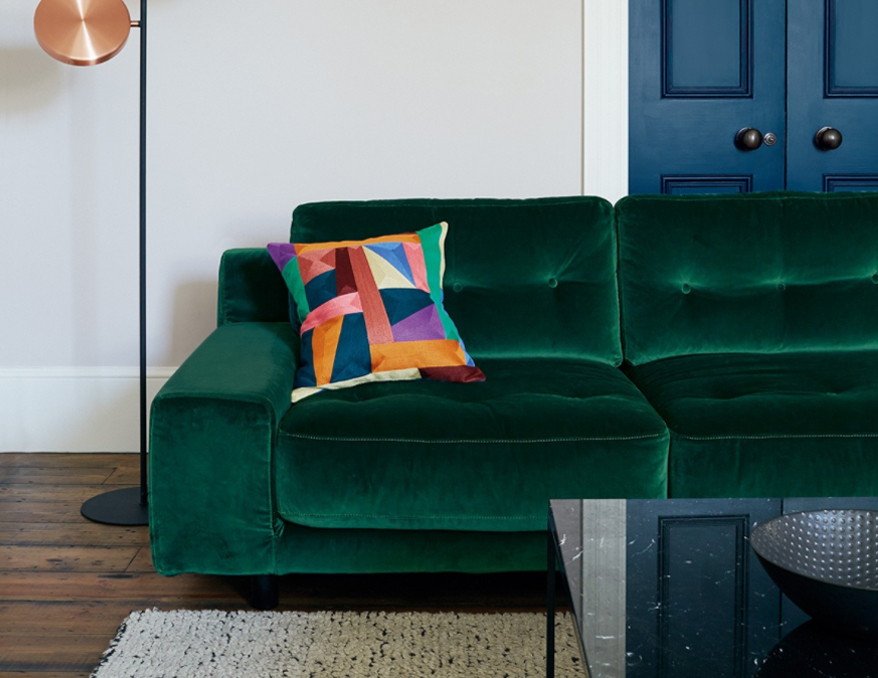 The sumptuous Hendricks sofa