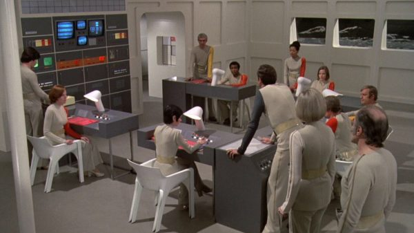 Space Age furniture in Sci-Fi films