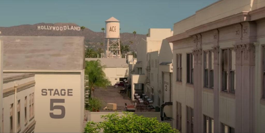 Ace Studios was filmed at Paramount Studios