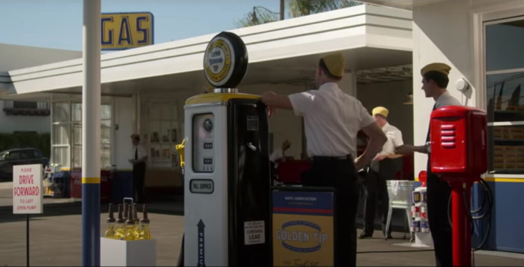 The Gas Station in Hollywood