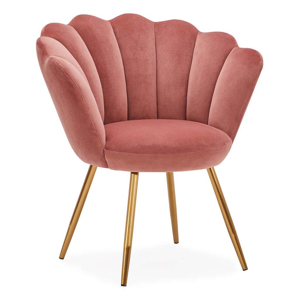 Vivian Velvet Cocktail Chair
