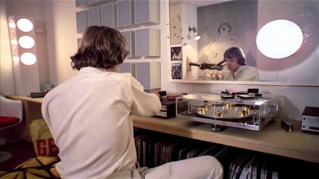 Transcriptors Hydraulic Reference Turntable as seen in A Clockwork Orange