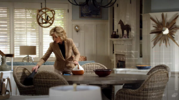 Grace and Frankie: Interior artistry