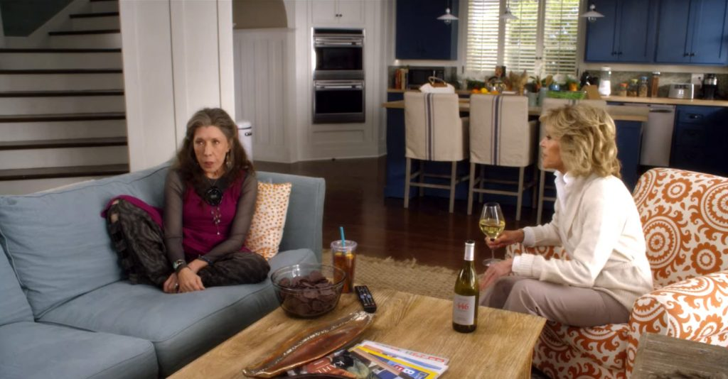 Grace and Frankie interior design