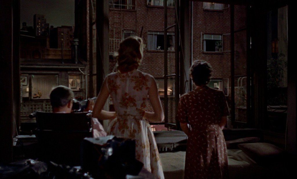 Rear Window by Hitchcock