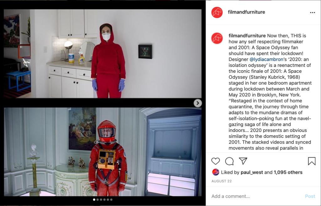 lydia lockdown odyssey instagram grab