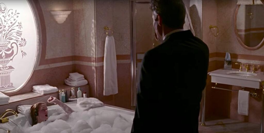 The bathroom in A Pretty Woman