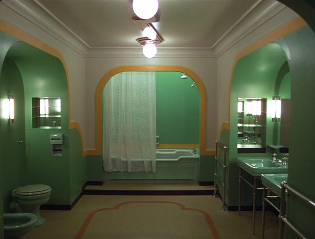 the shining bathroom