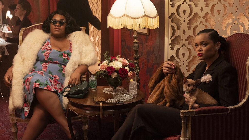 Da'Vine Joy Randolph and Andra Day in Billie Holiday biopic