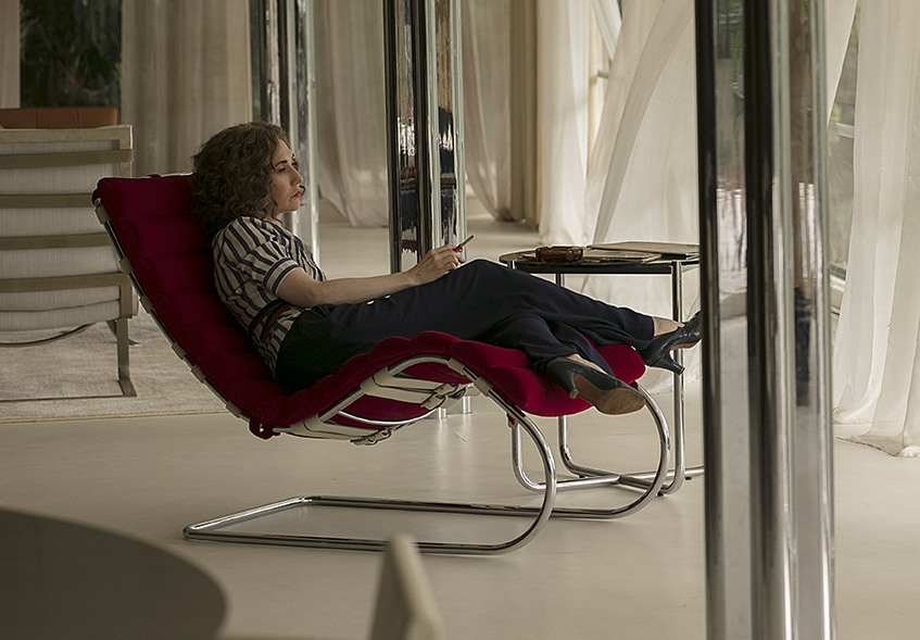 MR Chaise lounger by Mies van der Rohe