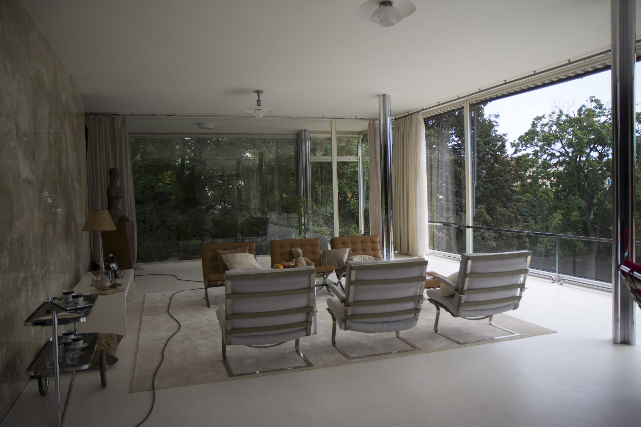 Tugendhat Chair by Mies van der Rohe