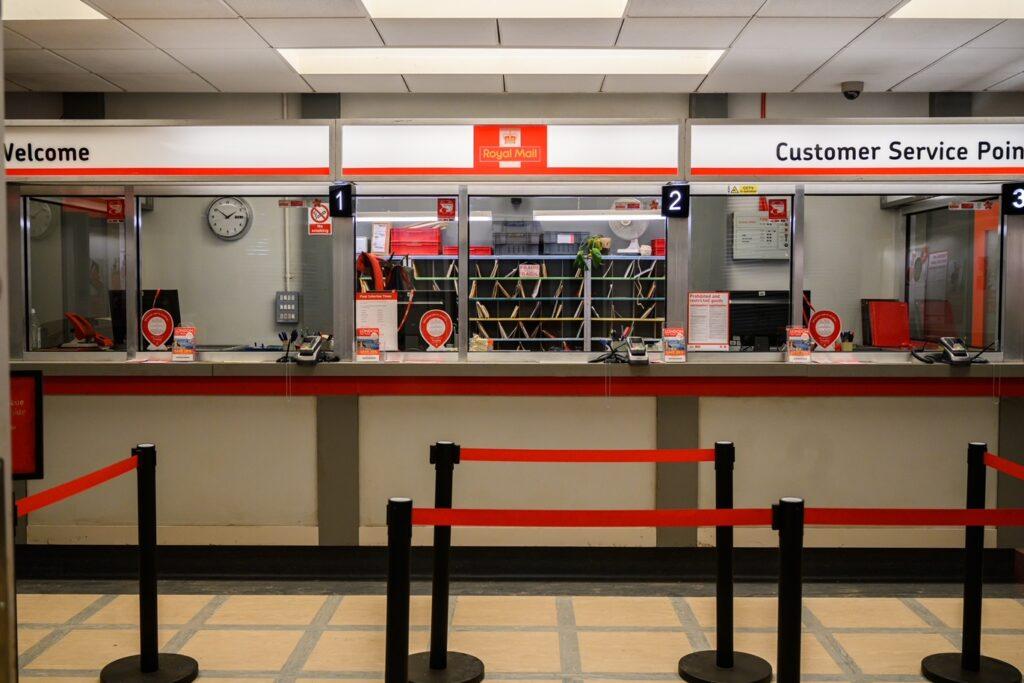 The post office set - now (Image: James Merifield)