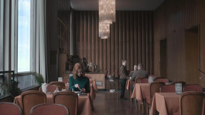Moscow Hotel in The Queen's Gambit